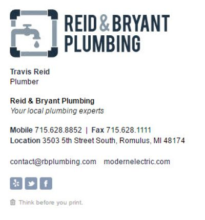 The Business Template for Plumbers