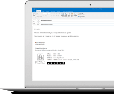 Why Microsoft Word Email Signatures Are Bad For Your Business