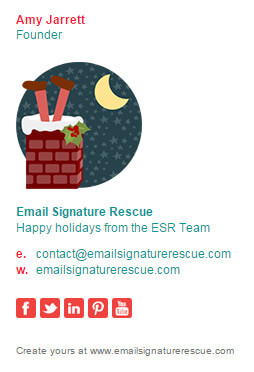 Christmas Email Signature Template Email Signature Rescue