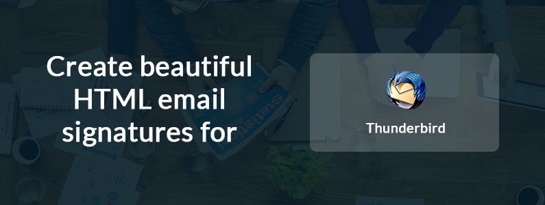 Email Signatures For Thunderbird